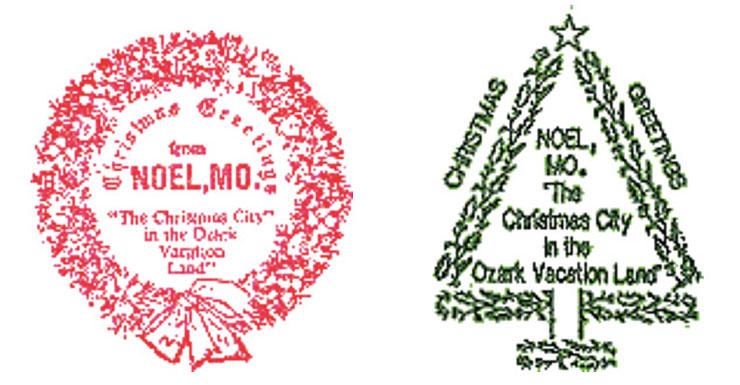 Noel Missouri Stamps